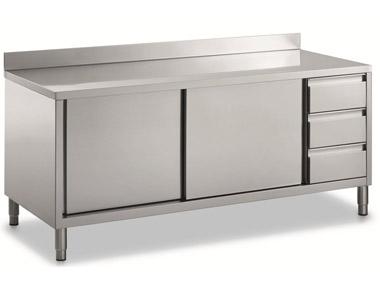 Artotec forni e arredamenti per panifici ristoranti pasticcerie pizzerie gelaterie bar e - Tavoli acciaio inox prezzi ...